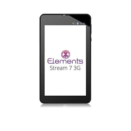 Elements Tablet 7' con conexión 3G, Memoria de 512MB y Almacenamiento Flash de 8GB