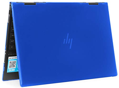 mCover Hard Shell Case for 2020 15.6' HP Envy x360 15-EExxxx (AMD CPU) / 15-ED (Intel CPU) Series Laptop (NOT Compatible with Envy x360 15-AQ/BP/DS/DR Series & Other Models) – x360-15-EE-ED (Blue)