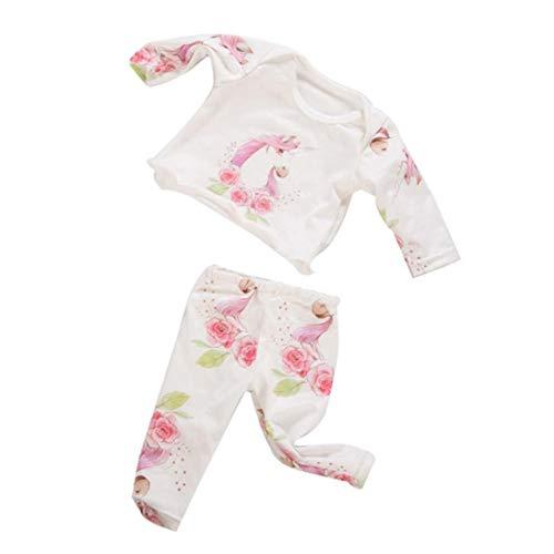 JBNS Puppe Pyjamas Suit 18 Zoll Mädchen Puppe Pferd Thema Pyjamas Fashion Dolls Kleid Kleidung Mini Doll Pyjamas Der Beiläufigen Ausstattung Kinder Spielzeug