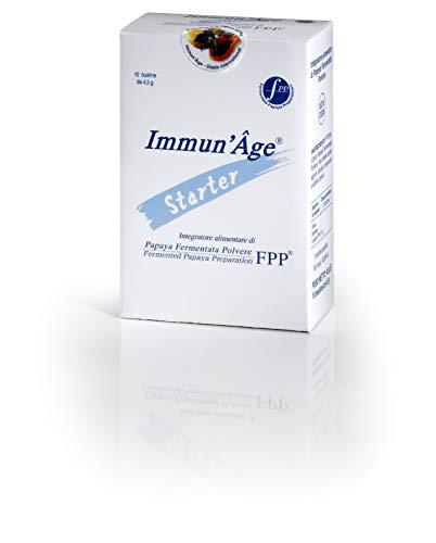 Immun'Age Starter 10 Sachets Natural Papaya Dietary Supplement For Stress