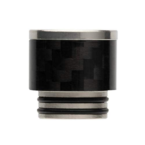 Lingketech Delrin Golden 810 Connector drip Screws tip Adaptor Wide Bore Accessory USA Stock Arrive in 3-7 Days -Black
