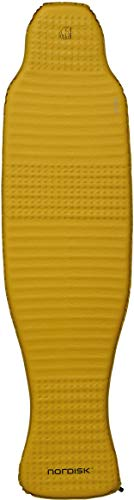 Nordisk Grip 3.8L körperkonturierte Matte Isomatte, Mustard Yellow/Black