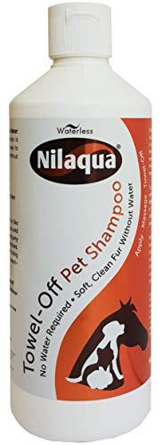Nilaqua - Shampooing sec sans rinçage pour animal domestique