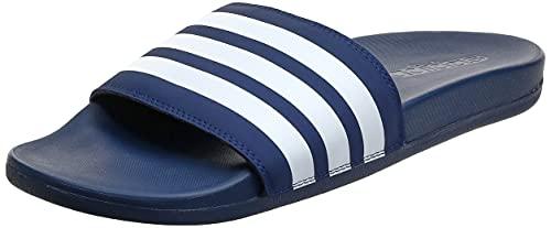 Adidas Adilette Shower, Scarpe da Squash Uomo, Blu Conavy Ftwwht Conavy Conavy Ftwwht Conavy, 44.5 EU