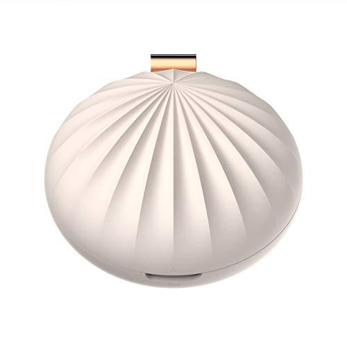 Shell Aroma Difusor De Aceite Difusor De Aroma Esencial Silencioso Humidificador De Niebla Eléctrico Fresco con Batería para El Hogar SPA Yoga Habitación De Bebé Dormitorio Oficina