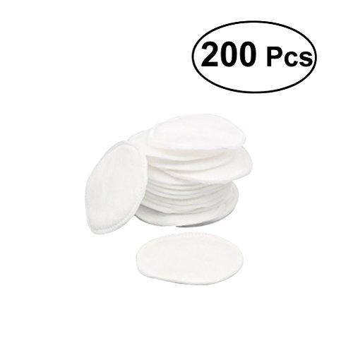 frcolor Lot de 200 cotons coton ronde Pads pour maquillage et dissolvant Nettoyage du visage