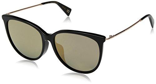 Marc Jacobs Marc 257/F/S JO 807 56 Gafas de sol, Negro (Black/Gy Grey), Mujer