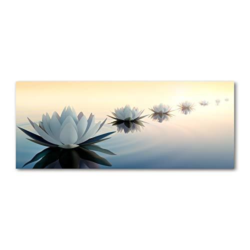 Tulup Impresión en vidrio - 125x50cm - Cuadro Pintura en Vidrio -...