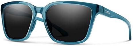 Smith Shoutout Sunglasses Crystal Mediterranean ChromaPop Polarized Black Smith Optics Shoutout product image