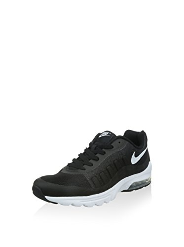 Nike Air MAX Invigor, Zapatillas de Running Unisex Adulto, Negro (Black/White), 44 EU