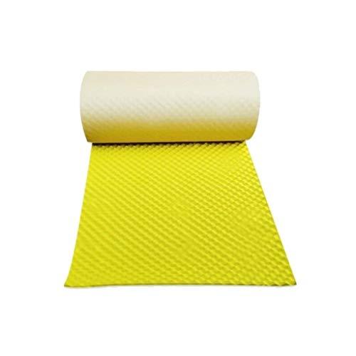 Amarillo brillante sonido de absorción de algodón, 3 cm gruesos...