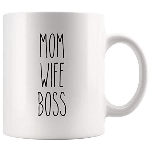 Dunn Mug Style Mom Wife Boss Holiday Mujer Navidad Rae 11Oz Cup Camiseta