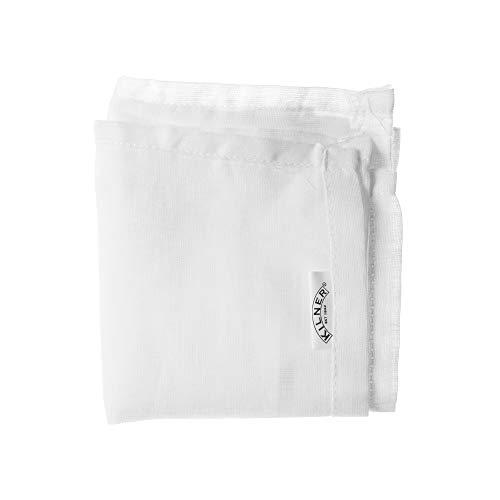 karis 0025.415 Carre DE Mousseline 50 X 50 CM, Tissu, Blanc, 18 x 0,4 x 29,5 cm