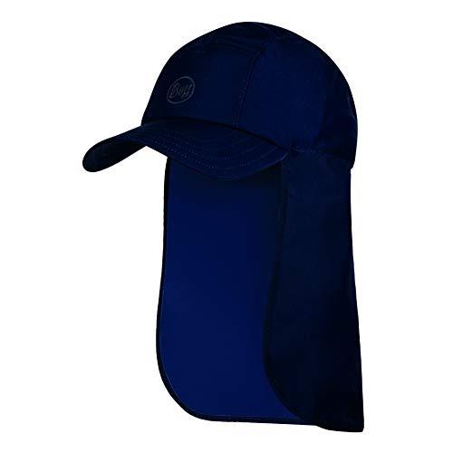 Buff Erwachsene Bimini Cap, Solid Night Blue, One Size