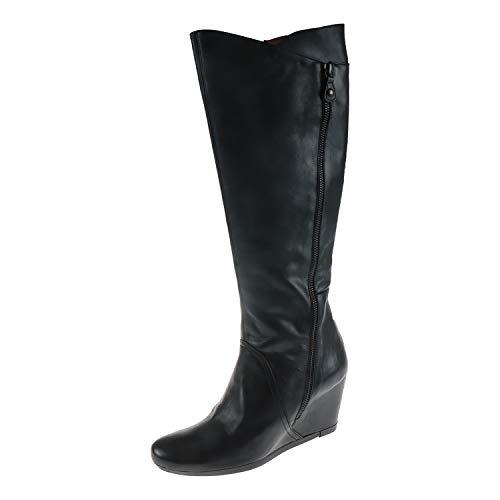 Hispanitas Damen Schuhe Panama-I3 Negro Schwarz HI3804C003 (39 EU)