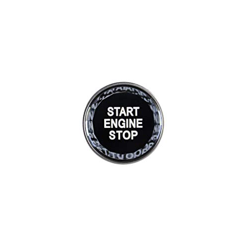 NMQQ Botón De Bloqueo, para El Interruptor De Encendido del Botón De Cristal X1234567 Serie