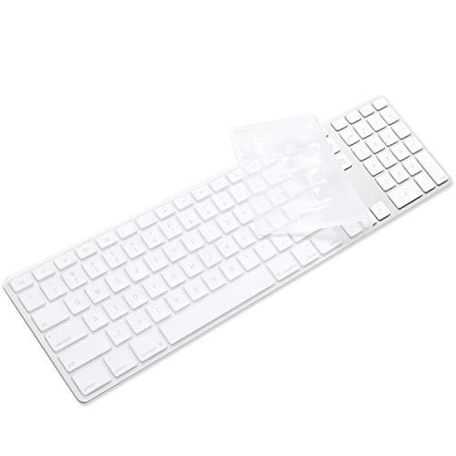 Anti Du Clear Desktop Computer Keyboard Cover Skin for PC 104//107 Keys Standard