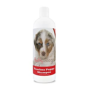 Healthy Breeds Tearless Puppy Dog Shampoo for Australian Shepherd – OVER 100 BREEDS – Nourishes & Moisturizes for Growth – Safe with Flea and Tick Topicals – 16 oz