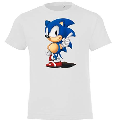 Trvppy - Camiseta para niño, modelo Sonic, tallas de 2 a 12 años, en muchos colores