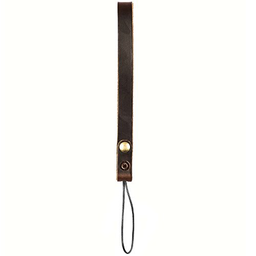 Moment - Leather Wrist Strap for Camera, Phone, and Wristlet - Dark Brown