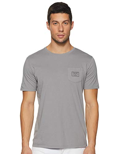 Scotch & Soda T-Shirt Men Garment-Dyed Crewneck Tee 149000 Grau 0025 Grey, Größe:XXL