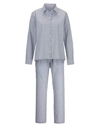 Joop! Damen Schlafanzug mit angesagtem Hemdkragen 36