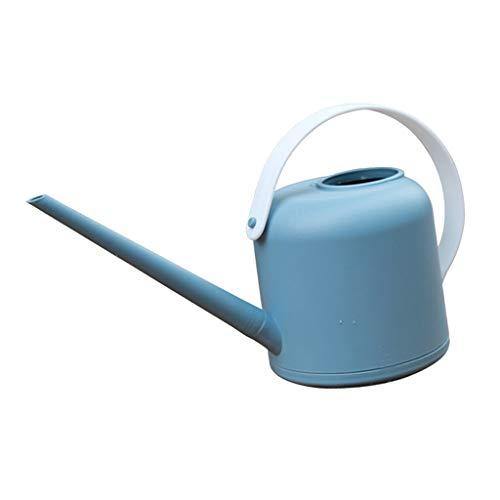 FLAMEER Gießkanne Blumengießkanne Klein Zimmergießkanne für Zimmerpflanzen Hängepflanzen, Lange Mund Design - Blau