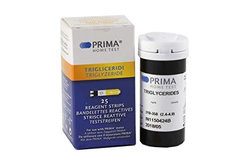 PRIMA 3-2 in 1 - Triglycerid Test- 25 Streifen