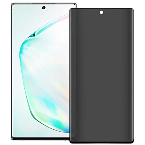 """Price comparison product image GBBC Galaxy Note 10 Plus Privacy Screen Protector (6.8""""),  2-Way Anti Spy Defender 9H Hardness Case Anti Peeking Tempered Glass Screen Protector,  for Samsung Galaxy Note 10 Plus"""