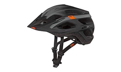 KTM FIDLOCK fahrradhelm Helm Factory Character - Bitte Grosse und Farbe auswahlen (Schwarz/grau, 58-62)