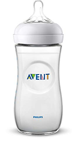 Philips SCF036/17 Avent Biberon Natural Anti-Colica, 330 ml, Trasparente