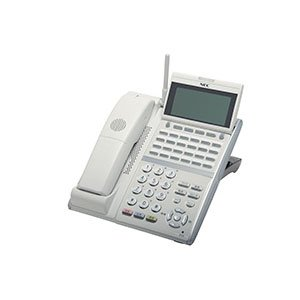 日本電気(NEC) Aspire UX 24ボタンカールコードレスデジタル多機能電話機(ホワイト) DTZ-24BT-3D(WH)TEL
