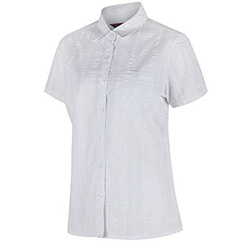 Regatta Jerbra II Chemises Femme, Blanc, Taille 44