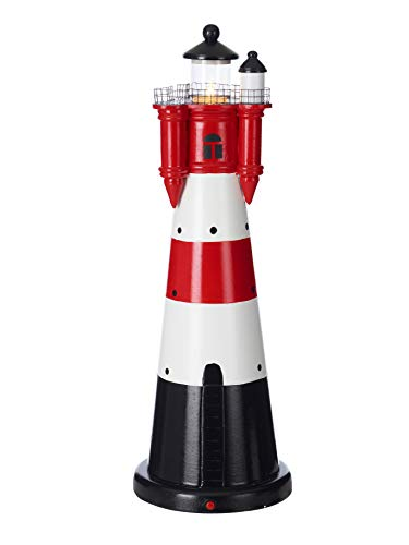 Nautical lighthouse table lamp 'Rotter Sand'