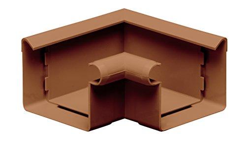 INEFA Rinnenwinkel NW 83, 90°, Wulst außen oder innen, kastenförmig, Kunststoff, Regenrinne, Dachrinne