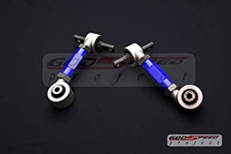 Godspeed Gen2 Version2 All 1990 1991 1992 1993 Acura Integra B16 B20 B18 D15 D16 Vtec Dohc Sohc Integra Crx Rear Camber Adjuster Kit Blue Color