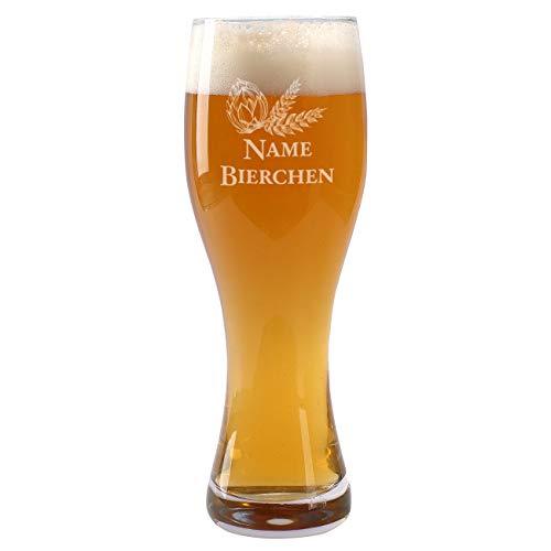 Leonardo Weizenglas Taverna 0,5 l - Bierchen - mit Gratis Gravur des Namens