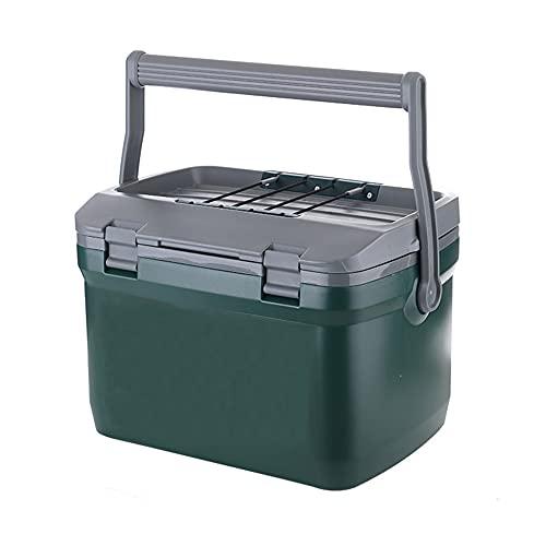 GHGD Mini refrigerador para Coche, congelador, Organizador de Coche Aislado con asa, Uso para Viajes, Acampada, Pesca, parrilladas, parrilladas,6.6L(7 Quarts)