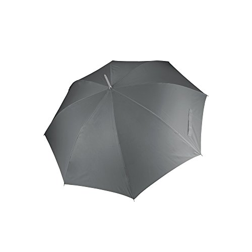 Kimood - Paraguas para golf apertura automática unisex (Talla Única/Gris)