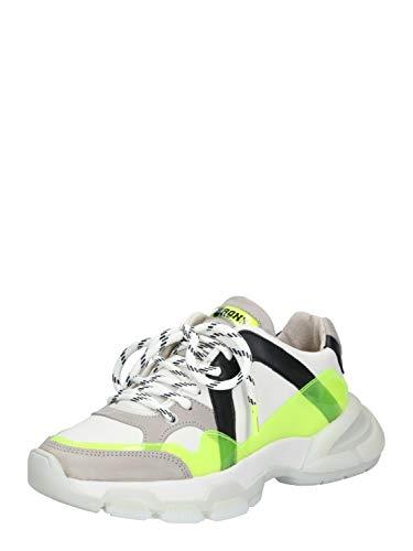 Bronx Damen Sneaker Low Seventy-Street Neongelb 39