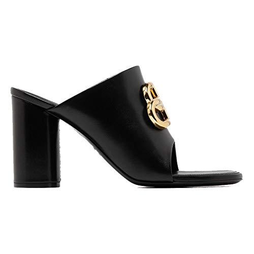 Balenciaga Luxury Fashion Donna 604065WA8F91088 Nero Pelle Sandali | Primavera-Estate 20