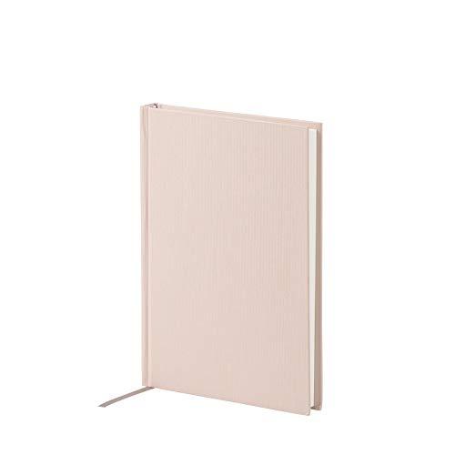 Rössler 1882452581 - S.O.H.O. gebundenes Notizbuch DIN A5, 192 Seiten , powder