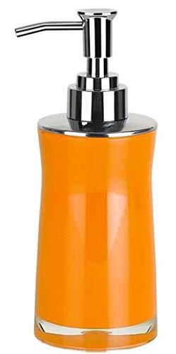 Spirella 10.13627 Sydney - Dispensador de jabón líquido (acrílico), Color Naranja