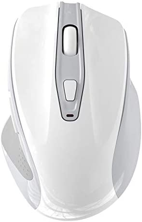QIJIAYI Computer Wireless Mouse 2 4G Noiseless Portable USB Mouse Ergonomic Mouse Fit Your Hand product image