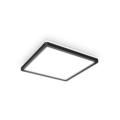 B.K.Licht 18 Watt LED Panel I 293x293x28mm I Ultra Flach I Indirektes Licht I neutralweiße Lichtfarbe I 2.400lm I LED Deckenleuchte I Deckenlampe