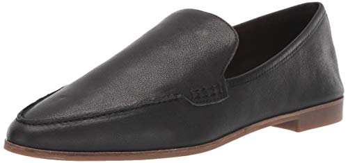 Lucky Women's BEJAZ Loafer Flat, Black, 5.5