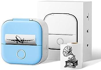 Ponek Smart Bluetooth Mini Pocket Sticker Thermal Printer