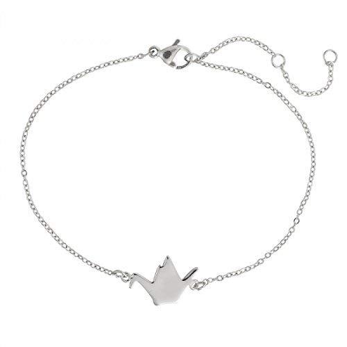 Bracelet Cygne Origami Argenté ou doré