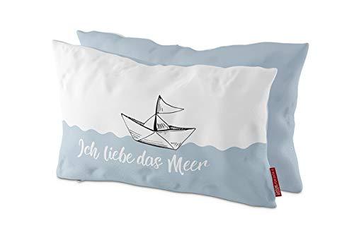 LaVida Kuschelkissen für Dich :- Ich Liebe das Meer