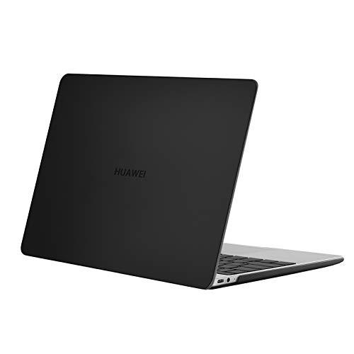 MOSISO Funda Dura Solo Compatible con Huawei MateBook 13 Pulgadas, versión 2020 con procesador AMD Ryzen, Estuche Rígido Plástico Carcasa Protectora, Negro